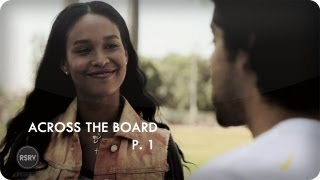 P-Rod Teaches Joy Bryant to Ollie| Ep. 1 Part 1/2 Across The Board| Reserve Channel