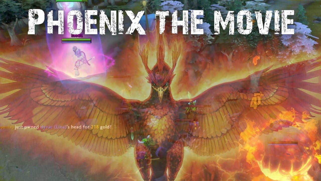 Dota 2 - Phoenix The movie