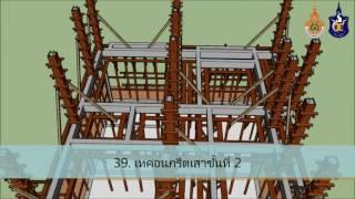 แบบจำลองการก่อสร้างโครงสร้างอาคาร คสล