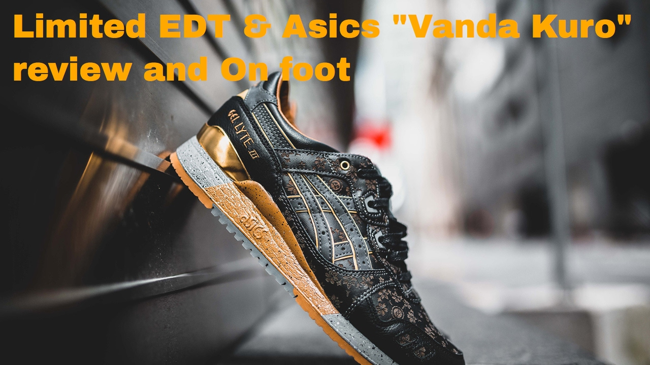 "new products 57247 82188 LIMITED EDT AND ASICS TO RELEASE THE ""VANDA KURO"""