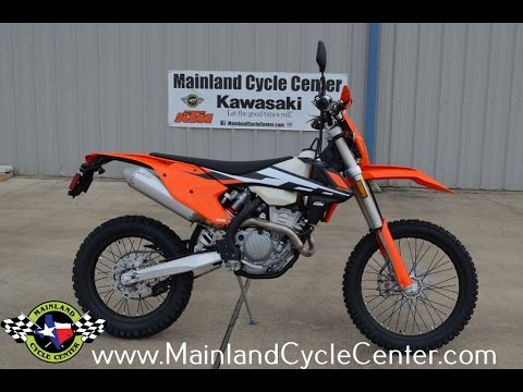 $10,399: 2017 ktm 350 exc-f overview and review street legal race