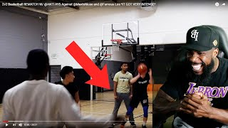 HE BALLED HIS FIST UP LMFAO!! HEATED HOOPIEST vs Instagram Basketball Hoopers!