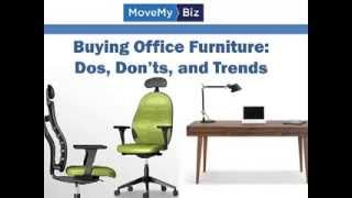 Advice For Buying Office Furniture: Dos, Don'ts, And Trends