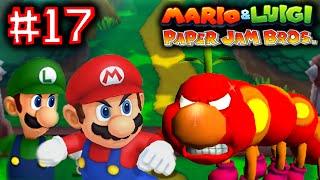 MARIO & LUIGI: PAPER JAM BROS - Part 17 - ANGRY WIGGLER BOSS FIGHT! [ENGLISH]