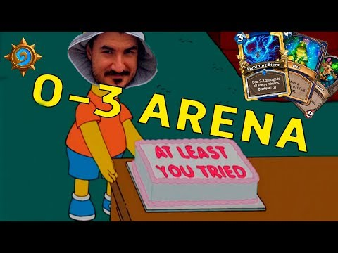 KRIPP DIGGING OUT ARSENAL OF EXCUSES, 0-3 ARENA IS HERE [Hearthstone, Witchwood]