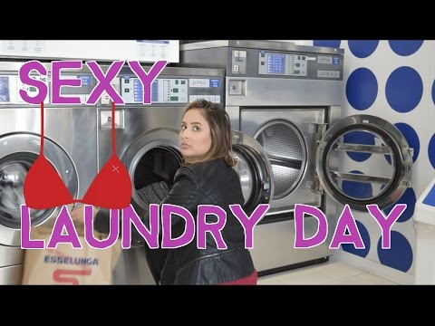 Sexy Laundry Day in Parma Italy