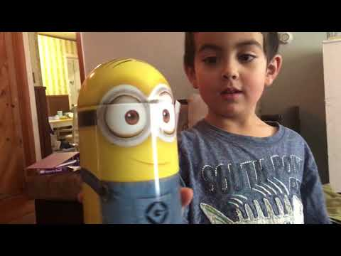 After Homeschool Exercise and Minion Piggy Bank