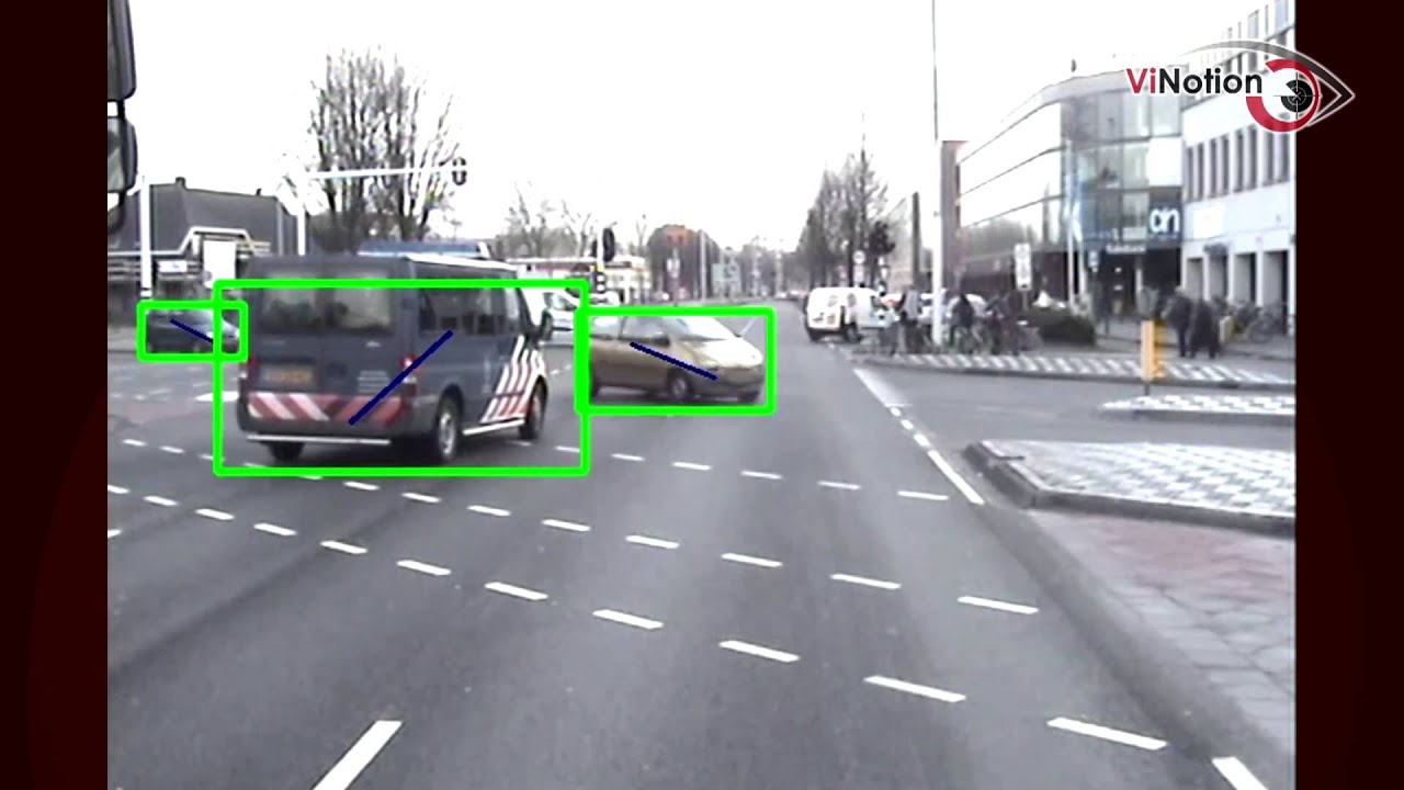 ViNotion object detection from moving vehicle (car detection)