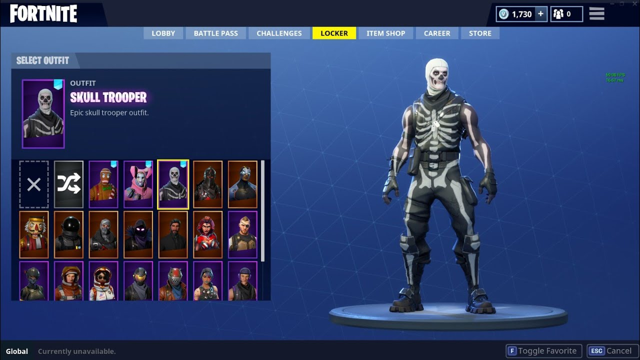 Free Fortnite account ( email and password in description ...