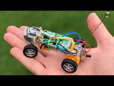 How to Make a Micro RC Car (Powerful Car) - Amazing Toy