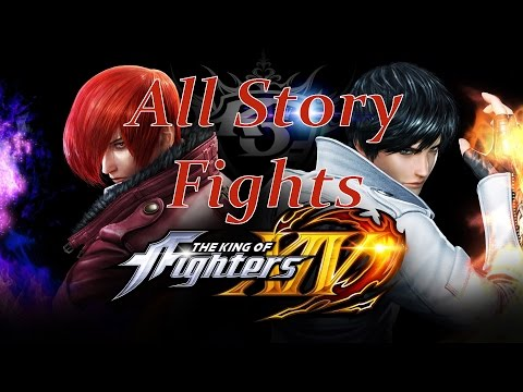 The King of Fighters XIV - All Story Mode Fights [English, Full 1080p HD, 60 FPS] - 동영상