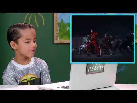 KIDS REACT TO MICHAEL JACKSON