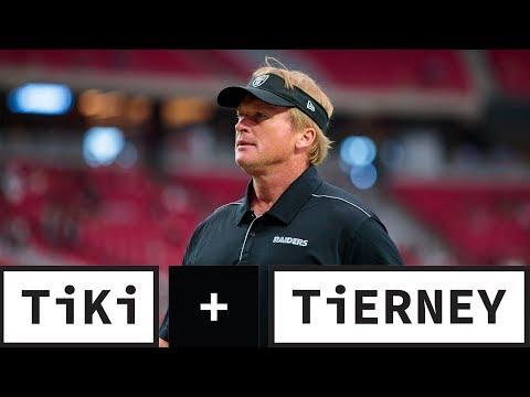 Jon Gruden Needs To Take Control Of The Raiders   Tiki + Tierney