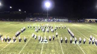 James A Garfield marching Pride Half time show 9/11/2015