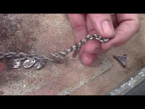 Fusing Jump Rings to Form a Bracelet