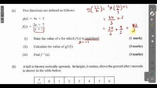 cxc csec maths past paper 2 question 9a may 2014 exam solutions act math sat math