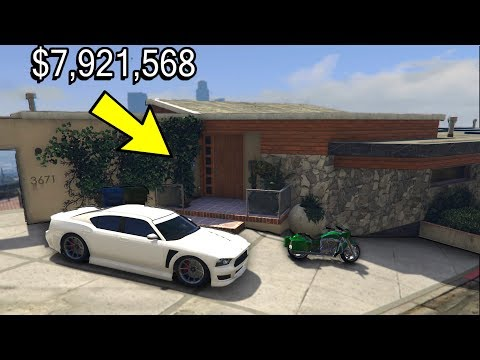 GTA 5 - How expensive are the main Character Houses in Real Life?