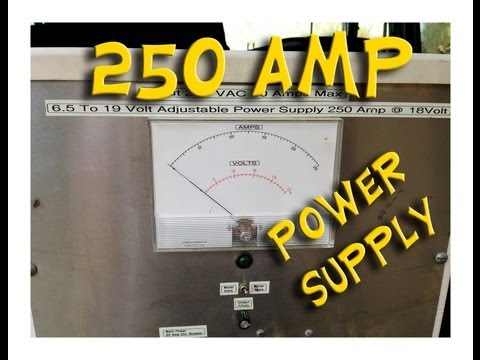 Test Bench Update 250A 12V Variable Power Supply