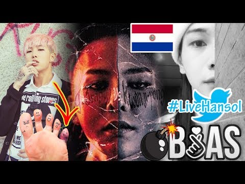 G-DRAGON es ACUSADO de ROBAR CANCIÓN|#LiveHansol|KPOP en PARAGUAY!|LESIÓN de RAP MONSTER(VIDEO)