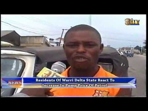 Residents Of Warri Delta State React To Increase In Pump Price Of Petrol