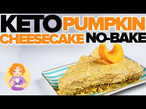 KETO Pumpkin Cheesecake No Bake Recipe �� Low Carb Pumpkin Cheesecake Mousse 90% FAT BOMB