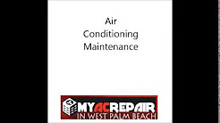 Air Conditioning Maintenance in Palm City, FL