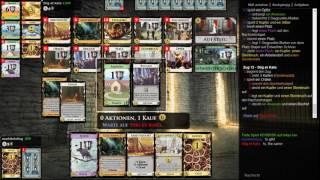 Dominion Online 018 (erste Partie mit deutschen Karten)