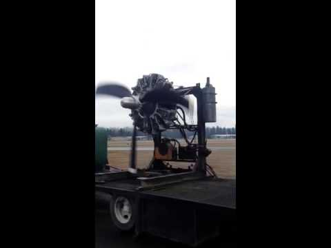 Curtiss-Wright R-1820 Cyclone Radial Engine