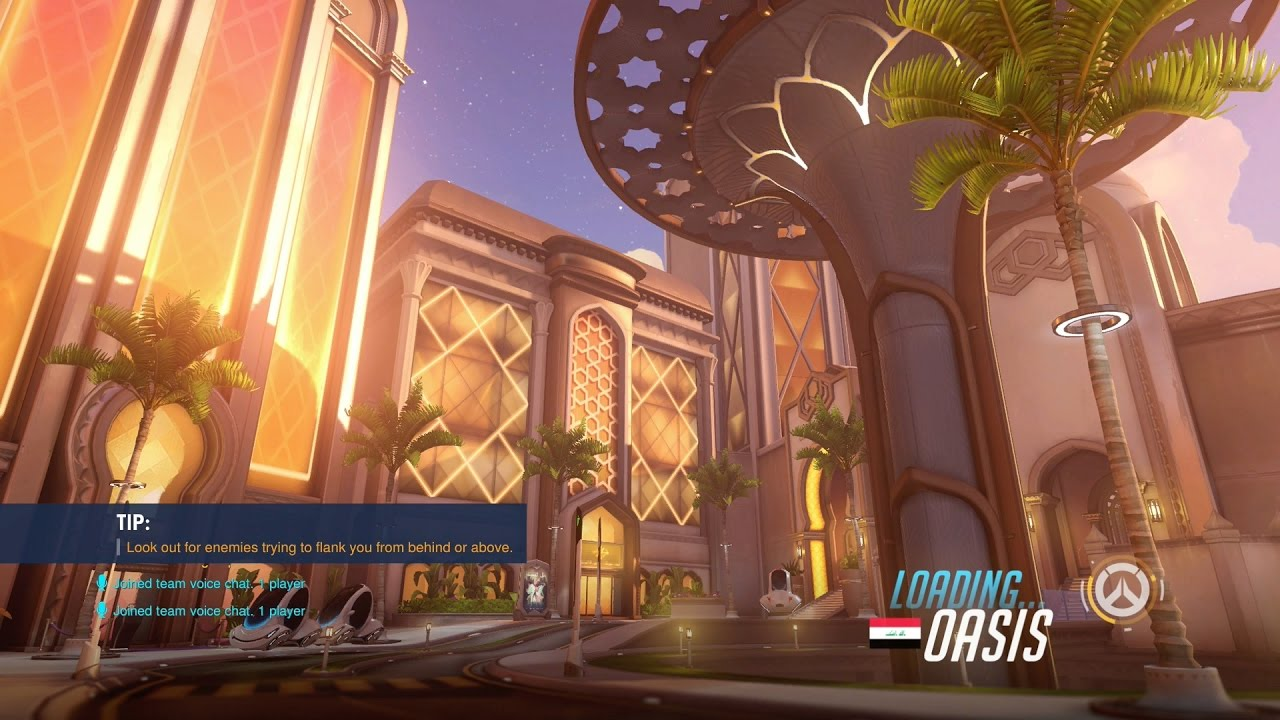 Secret Tricks On The New Map Oasis Overwatch YouTube - Nyc map oasis