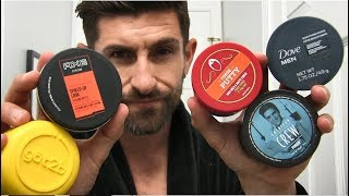 Testing Cheap Drugstore Hair Products To Find The BEST | Dove, Axe, Old Spice, Got2B, American Crew