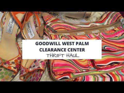 Thrift Haul: Goodwill West Palm Beach Clearance Center