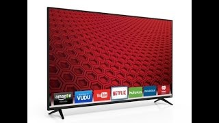 Vizio 65 inch e series LED Smart HDTV Unboxing