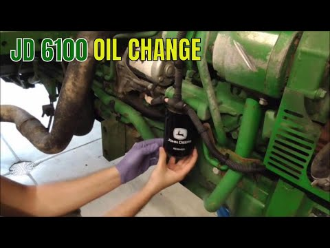 CHANGING THE ENGINE OIL ON MY JOHN DEERE YouTube