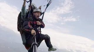 Моя мечта сбылась - я полетал на парашюте
