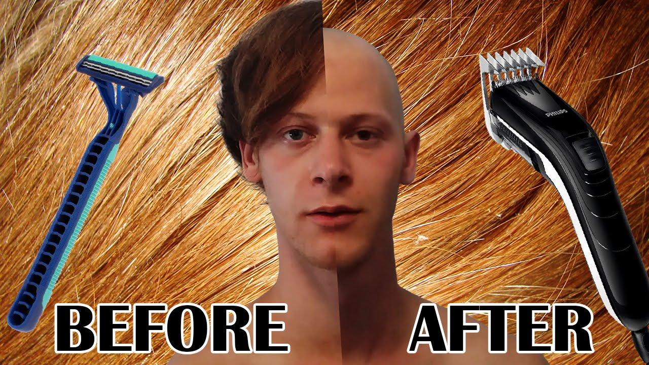 shaved Keep head