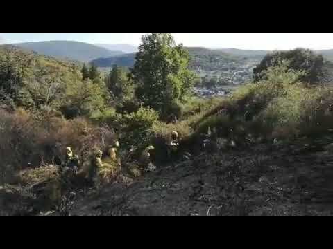 Incendio en Toreno