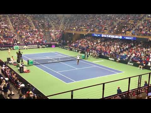 Venus Williams vs. Arantxa Rus (Fed Cup)