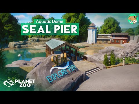 Seal Pier AQUATIC DOME Planet Zoo Aquatic Pack Speedbuild 07 |