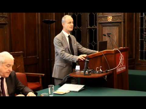 Europaeum Lecture: Professor Gilles Carbonnier on the Case for Humanitarian Economics