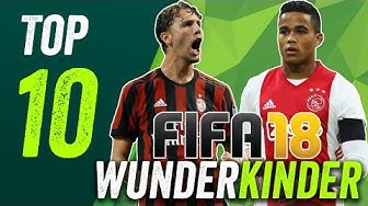 FIFA 18 Wunderkinder: 10 Talente unter 10 Millionen