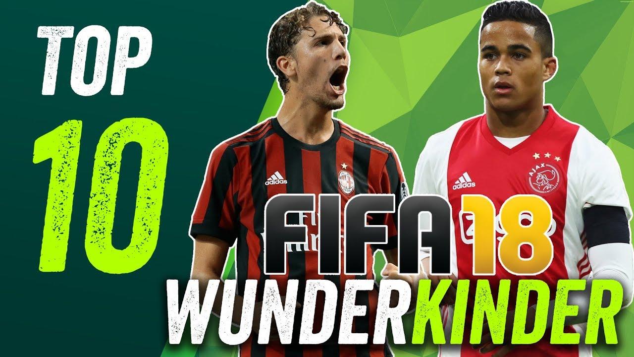 Fifa 18 Wunderkinder 10 Talente Unter 10 Millionen Youtube