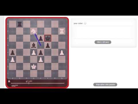 Chess tactics 12 Legal's Mate