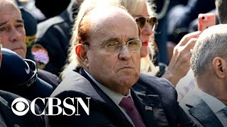 What the subpoena means for Trump's personal attorney Rudy Giuliani
