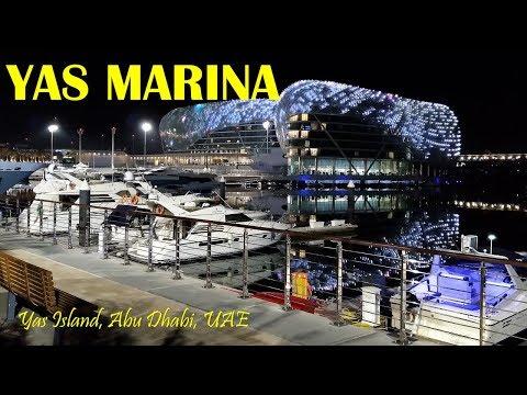 Yas Marina Nightlife Entertainment and Dining, Yas Island, Abu Dhabi, UAE