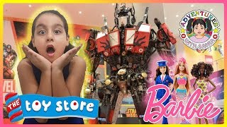 Barbie Toy Hunt at Toy Store | Having Fun Shopping | Toys Revi…