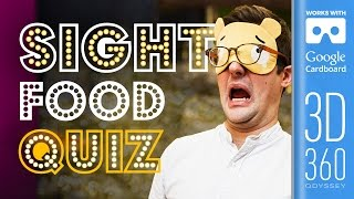 The Sight Round | Common Senses Quiz (VR)