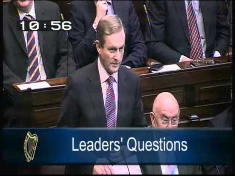Joe Higgins puts Taoiseach to the test on Labour's pre election promises