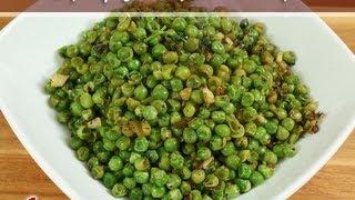 Spicy Green Peas (appetizer) Recipe By Manjula