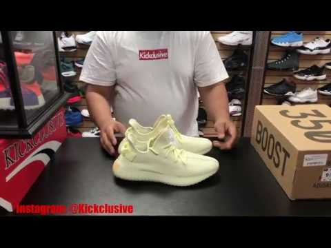 7a574816f EARLY FIRST LOOK ADIDAS YEEZY 350 V2 BUTTER IN HAND AND ON FOOT REVIEW