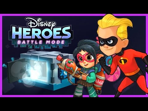 Disney Heroes Battle Mode! BUSTED! VANELLOPE AND DASH PRANK TOGETHER! Gameplay Walkthrough